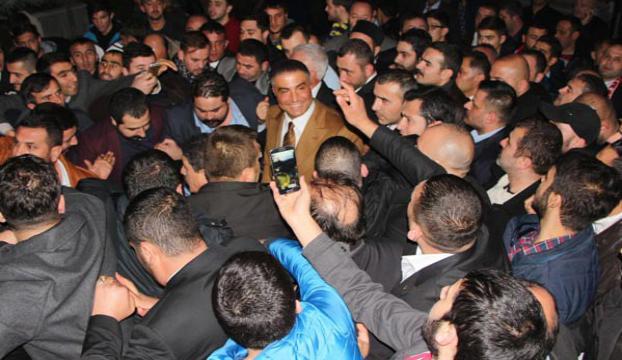 Kahramanmaraşta Sedat Peker izdihamı