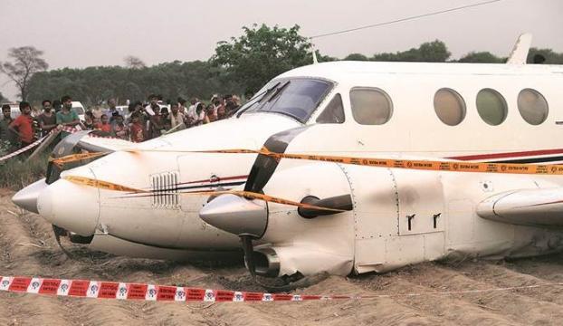 Hindistana ait ambulans uçak düştü
