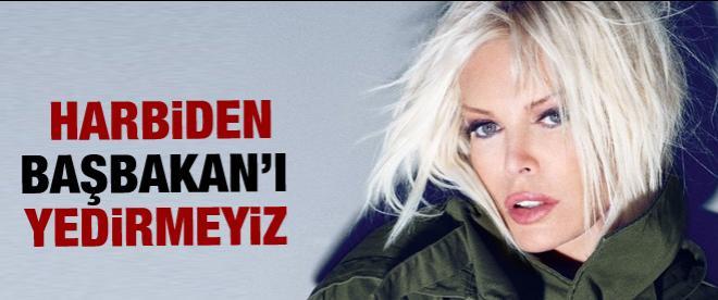 Ajda Pekkan'dan Başbakan'a destek