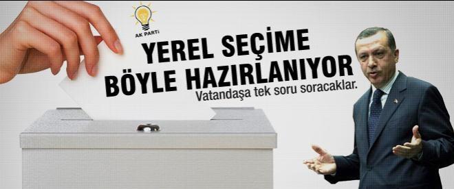 AK Parti'den yerel seçimler için büyük hamle
