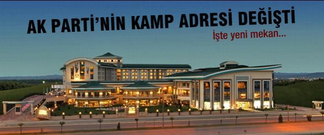 AK Parti'nin kamp yeri belli oldu