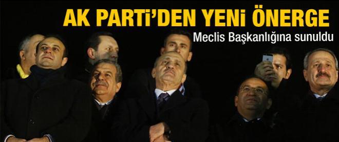 AK Parti'den yeni önerge