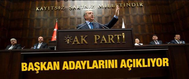 AK Parti başkan adaylarını açıklıyor