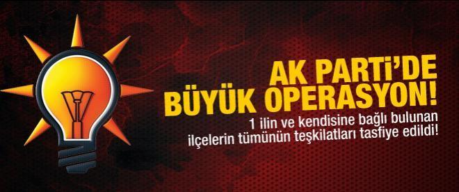 AK Parti Tunceli teşkilatları görevden alındı