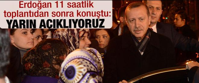 AK Parti'de 11 saatlik seçim mesaisi