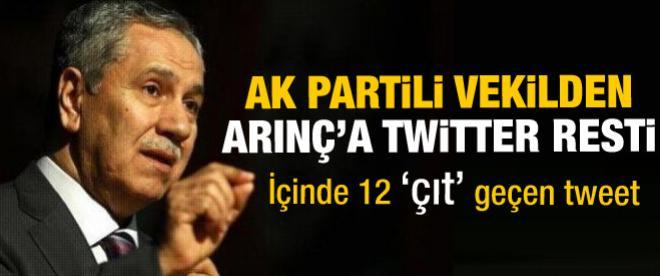 AK Partili vekilden 'çıt çıt'lı tweet