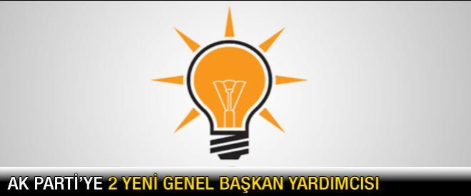 AK Parti'ye 2 yeni genel başkan yardımcısı