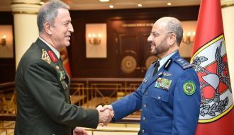 Akar, Suudi Arabistan Genelkurmay Başkan Yardımcısını kabul etti