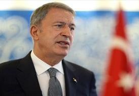 """Milli Savunma Bakanı Akar : """"Gereken ne varsa zamanı gelince yapılacak"""""""