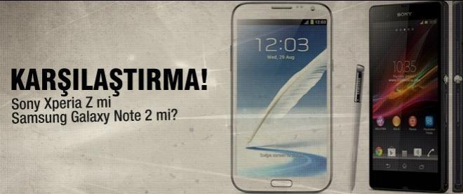 Sony Xperia Z mi Samsung Galaxy Note 2 mi?
