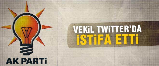 AK Partili vekil Erdal Kalkan istifasını açıkladı