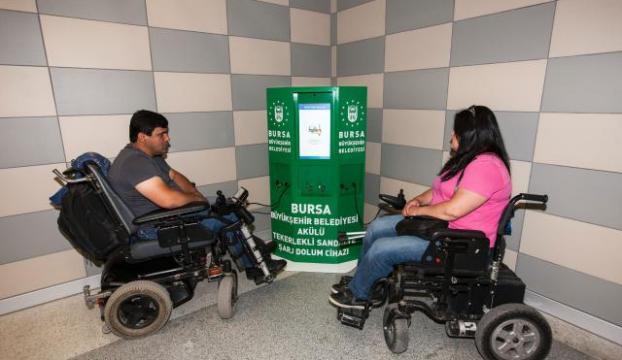 170 engelliye tekerlekli sandalye