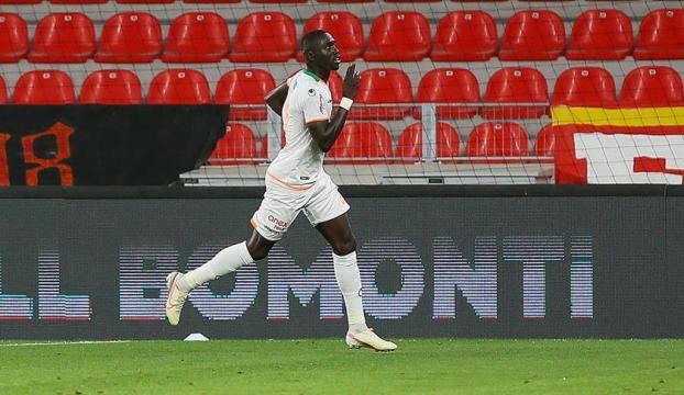 Alanyasporun en skoreri Cisse takımının son 3 maçında 6 gol kaydetti