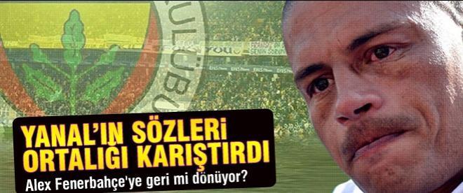 Alex Fenerbahçe'ye geri mi dönüyor?
