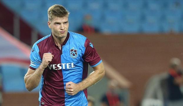 Trabzonsporda Alexander Sörloth sezona damga vurdu