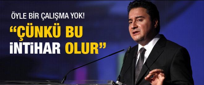 Ali Babacan: Sermaye kısıtlaması intihar olur!