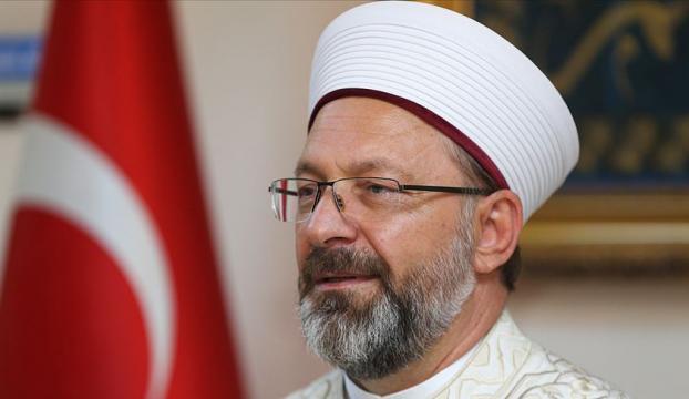 Diyanet İşleri Başkanı Erbaştan Müslüman dini liderlere Ayasofya mektubu