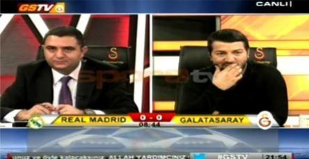 testRonaldo'nun golü GS TV'yi sessizliğe boğdu