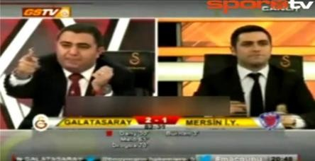 testGS TV spikeri Ali Ferahbot çıldırdı! Bu gol Abay'a.