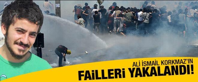 Ali İsmail Korkmaz'ın failleri yakalandı