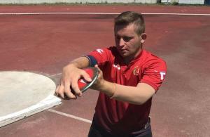 Özel sporcu Ali Topaloğlu, rekorunu geliştirmeyi hedefliyor