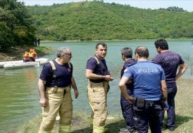 Alibeyköy Barajına giren 2 çocuğun kaybolması