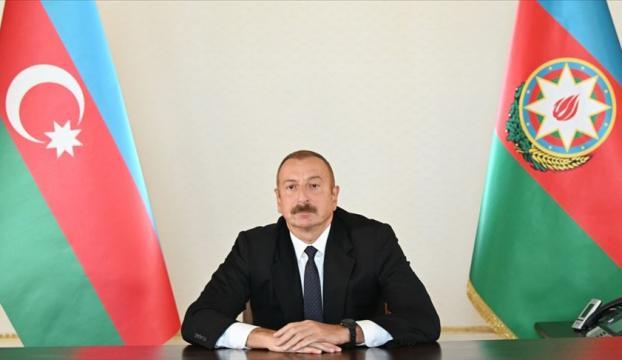 """Azerbaycan Cumhurbaşkanı Aliyev: """"Türkiye, Karabağdaki çözüm sürecinde yer almalıdır"""""""