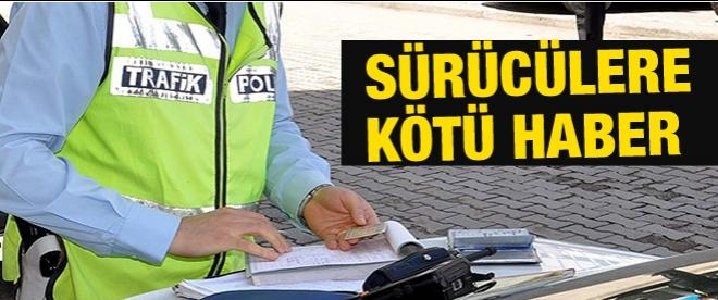 Alkollü araç kullanmanın bedeli bin 462 lira