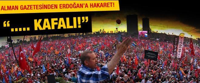 Alman gazetesinden Erdoğan'a hakaret