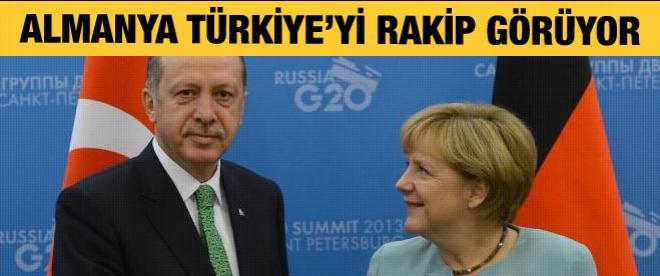 Almanya Türkiye'yi rakip olarak görüyor