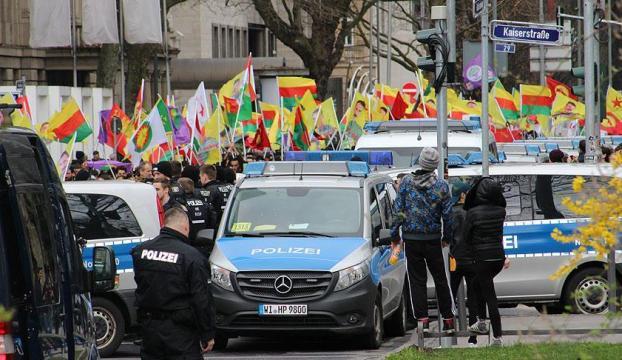 Almanya hükümeti terör destekçisi eylemlere karşı kör