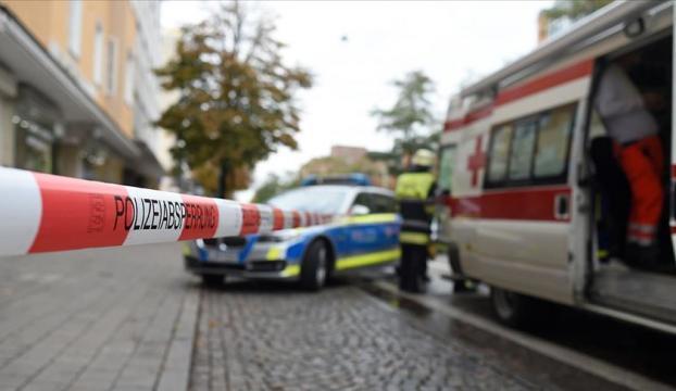 Almanyada silahlı saldırı