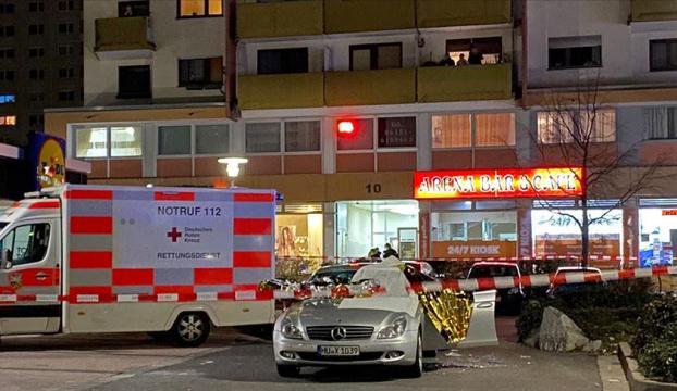 Almanyanın Hanau kentindeki silahlı saldırı