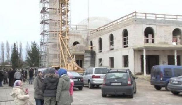 Almanyada yine camiye ırkçı saldırı