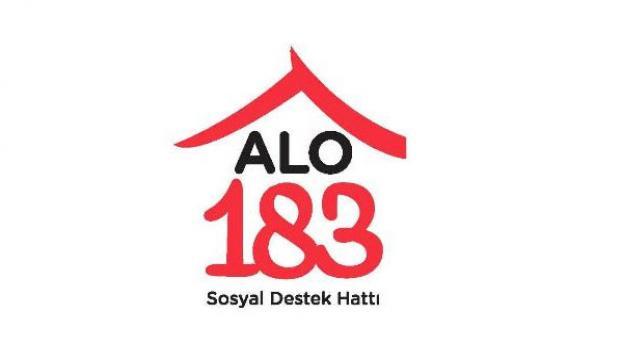 """""""Alo 183""""e 241 bin yardım çağrısı"""