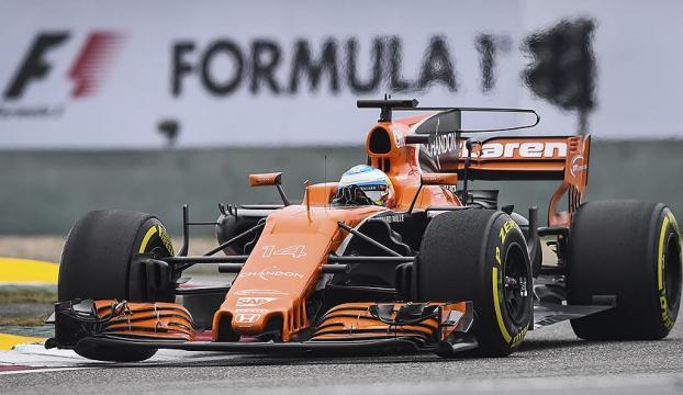 Alonso, Indianapolis 500 yarışında piste çıktı