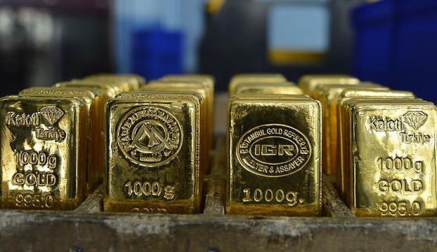 Altının kilogramı 158 bin 500 liraya geriledi