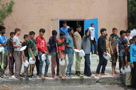 Edirne'de 453 kaçak ve sığınmacı yakalandı