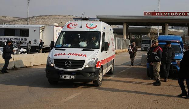 Suriyede yaralanan 4 asker Gaziantepee getirildi