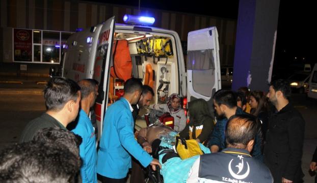 AK Parti ilçe başkanının konvoyuna saldırı!