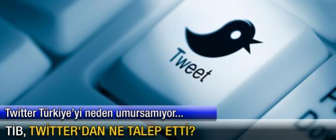TİB, Twitter'dan ne talep etti?