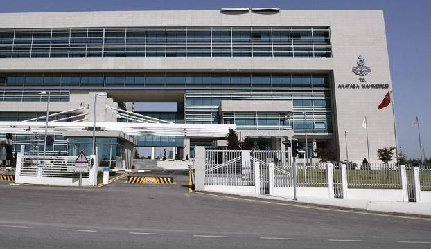 Anayasa Mahkemesinden CHPnin başvurusuna ret