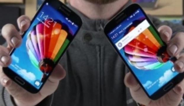Galaxy S4te Android karşılaştırması