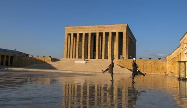 Yargıtay üyeleri Anıtkabirde
