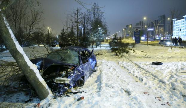 Ankarada trafik kazası: 5 yaralı