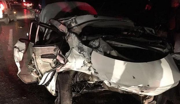 Ankarada askeri araç ile otomobil çarpıştı: 6 yaralı