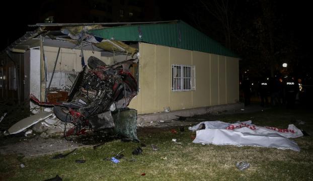 Başkentte trafik kazası: 4 ölü, 1 yaralı