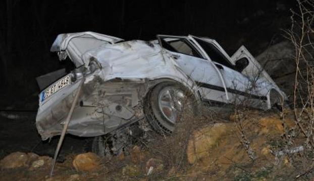 Ankarada kaza: 1 ölü, 4 yaralı