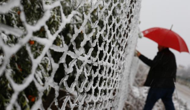 Antalya için buzlanma ve don uyarısı