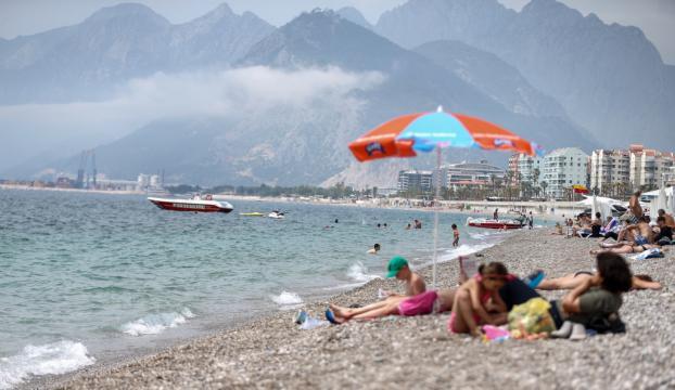 Antalyada mayıs ayında deniz keyfi